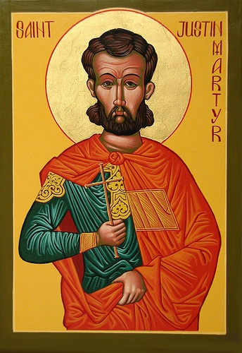 justin martyr writings Justin's surname was not really martyr  he tells in one of his later writings that  some of the unrest that stirred in his soul before his conversion with this old.