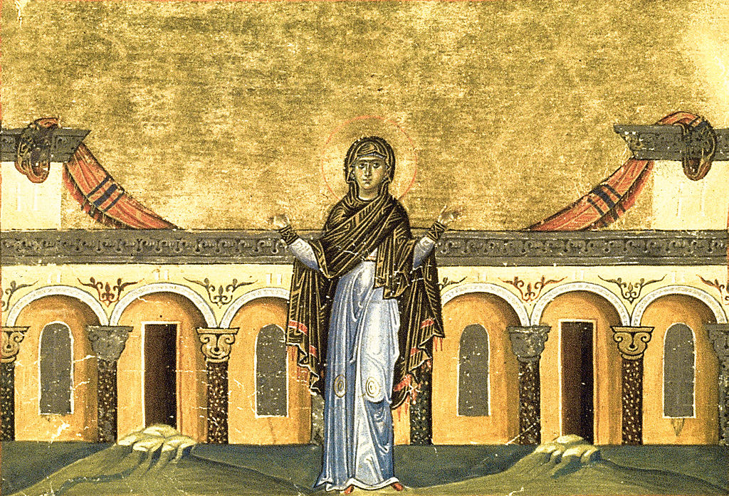 1024px-Righteous_Syncletica_of_Alexandria_(Menologion_of_Basil_II)
