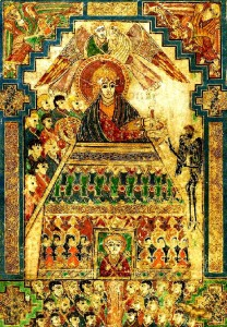 Book of Kells - Temptation of Christ